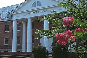 Exterior of Baltimore Hall
